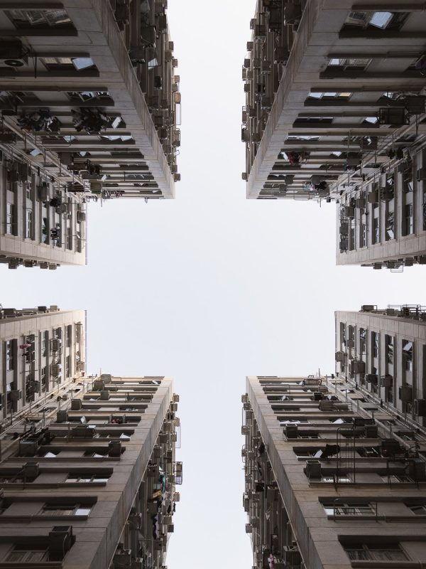 Housing complex in Hong Kong