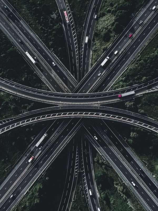 Motorway shapes