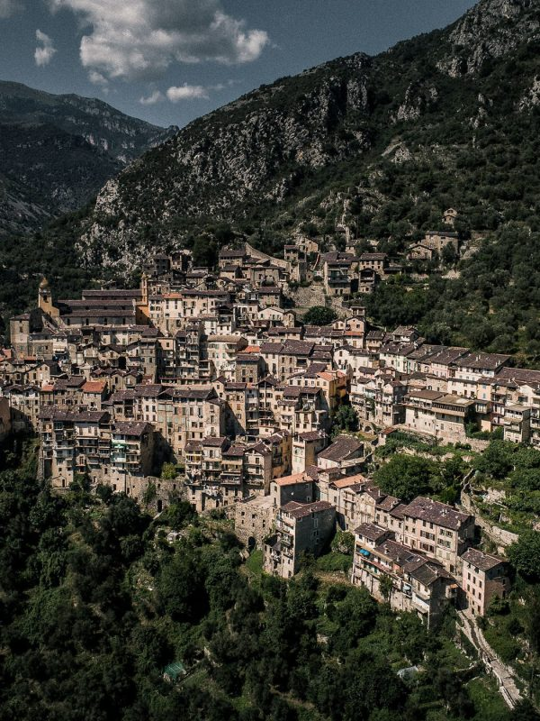 Hillside town in Italy