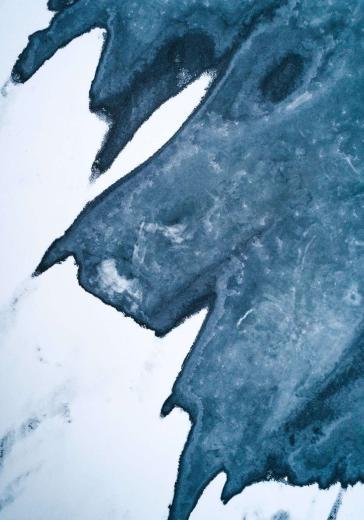 Ice patterns Iceland