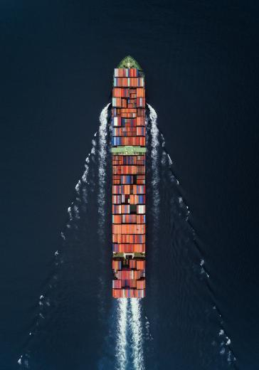 Cargo ship Hong Kong
