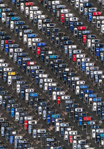 Car park aerial