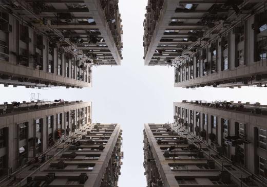 Housing complex in Hong Kong