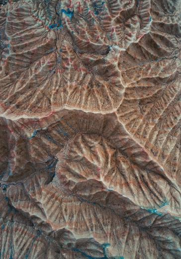 Abstract Aerial Art_The Fossil