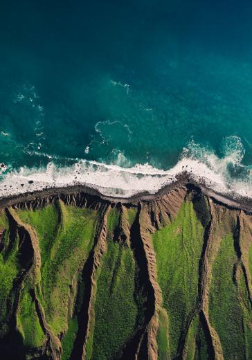 Abstract Aerial Art_Cliffhanger