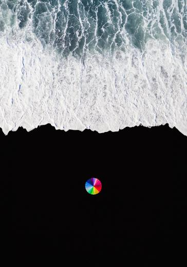 Abstract Aerial Art_Colour Wheel