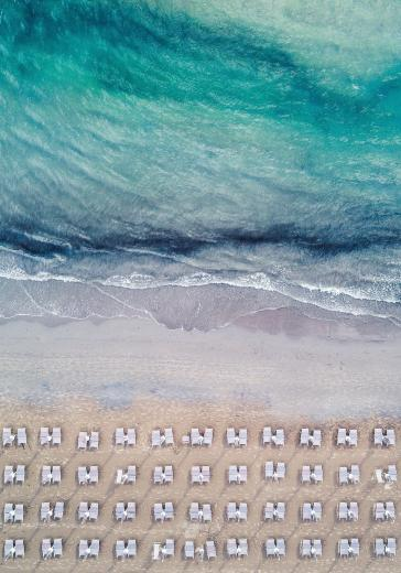 Abstract Aerial Art_The Deckchair
