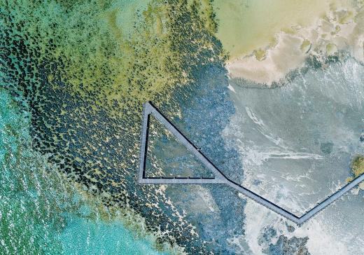 Abstract Aerial Art_The Stromatolites