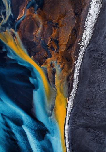 Abstract Aerial Art_Lacerate